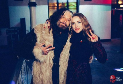 Me & John Corabi backstage at The Diamond Live Lounge, Doncaster